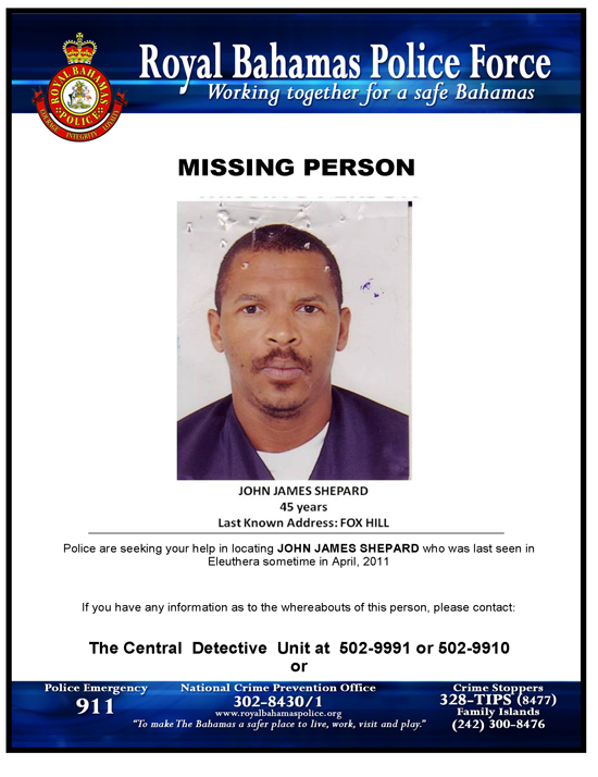 Doc800600 Wanted Person Poster Police Issue Wanted Poster for – Make a Missing Person Poster