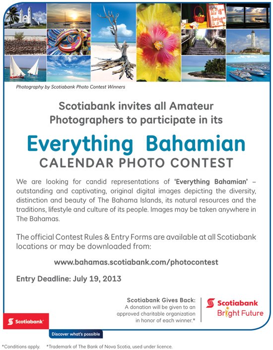 Calendar Photography Contest : Everything bahamian calendar photo contest by scotiabank